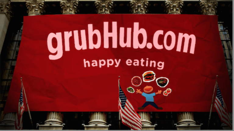 GrubHub Offers Appetizing Opportunity for Bullish Breakout