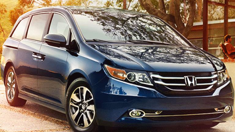 Honda Recalls 634,000 Minivans