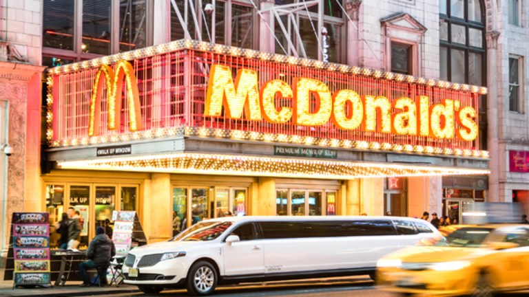Charts: McDonald's Could Be About to Tank