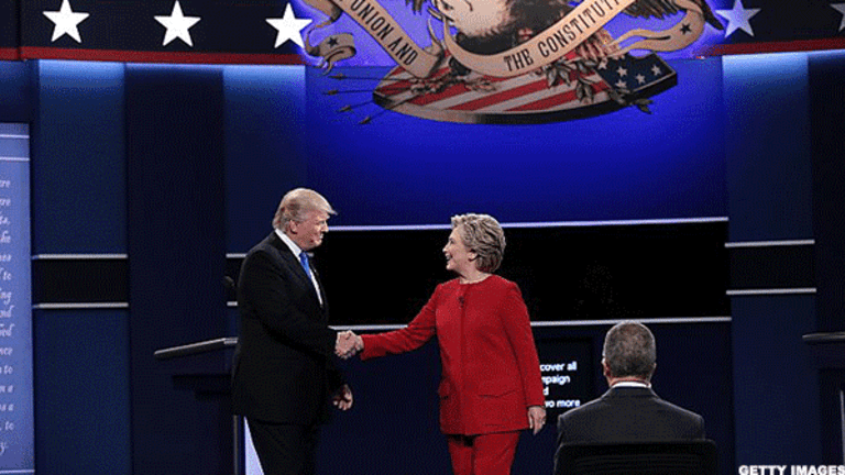 Here's How the Markets Could React to the First Clinton-Trump Presidential Debate
