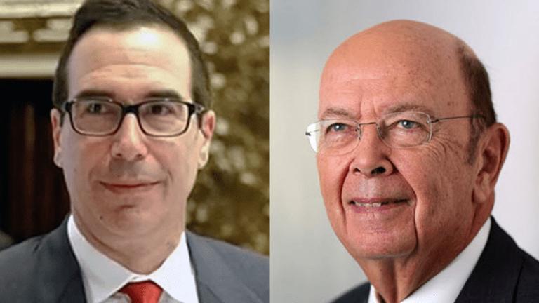 Trump to Nominate Mnuchin as Treasury Secretary, Ross as Commerce Secretary