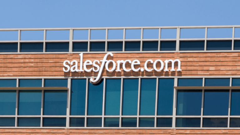 Salesforce Shares Pop as Q3 Results Top Estimates