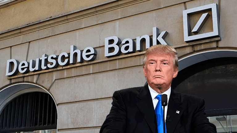 Troubled Deutsche Is One of the Few Banks That Still Lend Donald Trump Money