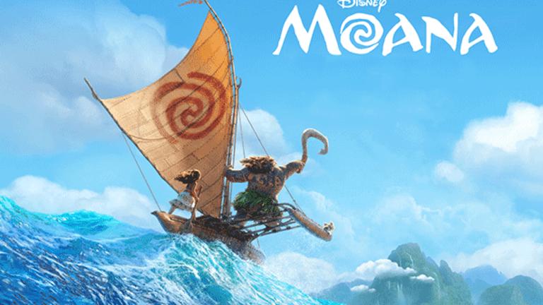 Disney's 'Moana' Remains Atop Box Office