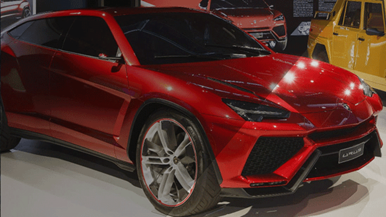Volkswagen's Lamborghini SUV Could Double the Supercar Brand's Output After 2018