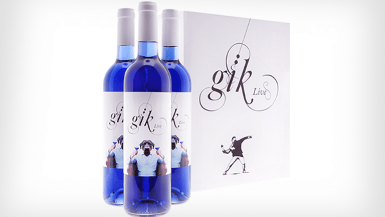 Add Blue Wine to Your Table for a True Red, White And Blue July 4th