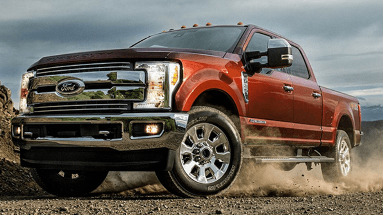 Ford Chart Shows Stock on Cusp of Upside Explosion as Investors Eye $100k Pickup