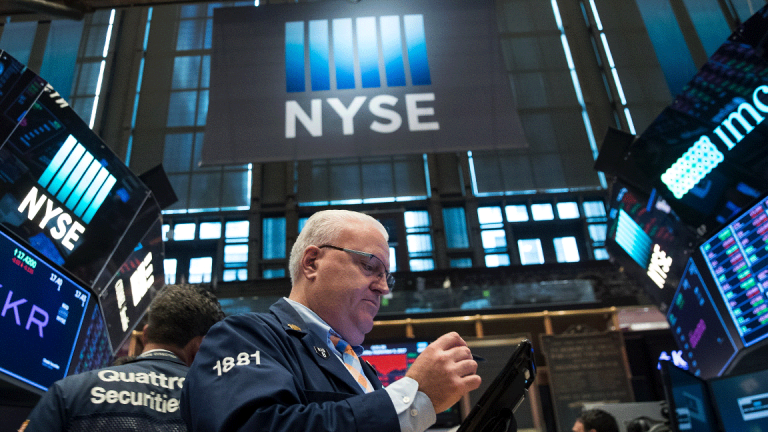 Consumer and Industrial Stocks Push Dow Higher After Two Weeks of Losses
