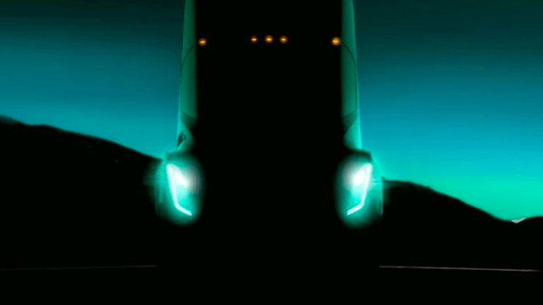 Tesla's 'Beast' Tractor Trailer That Might Send Stock Soaring 400% Is Ready