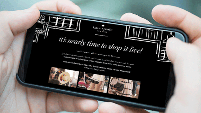 Kate Spade Created an Experiential Live Shopping Event for Its NYFW Presentation