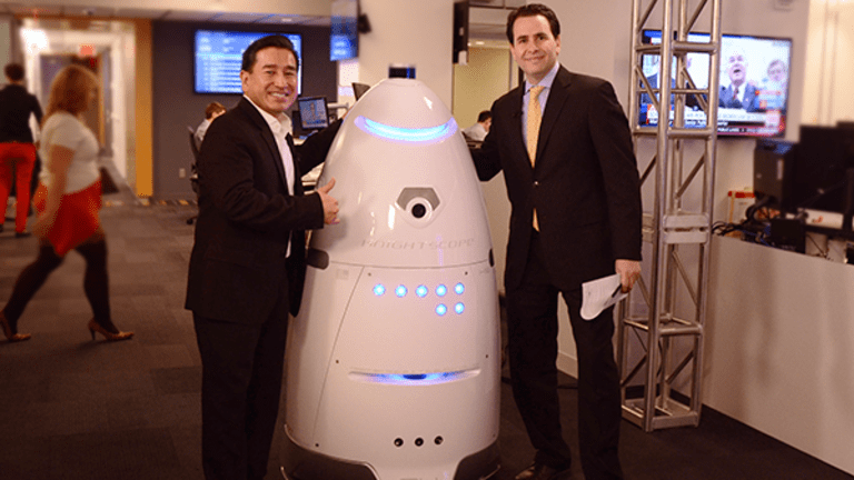 Security Robots Patrolling a Mall Near You