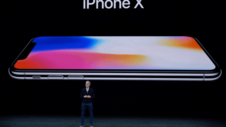 Apple's Stock Breakout Is Emerging as New Data Predicts Huge iPhone X Demand