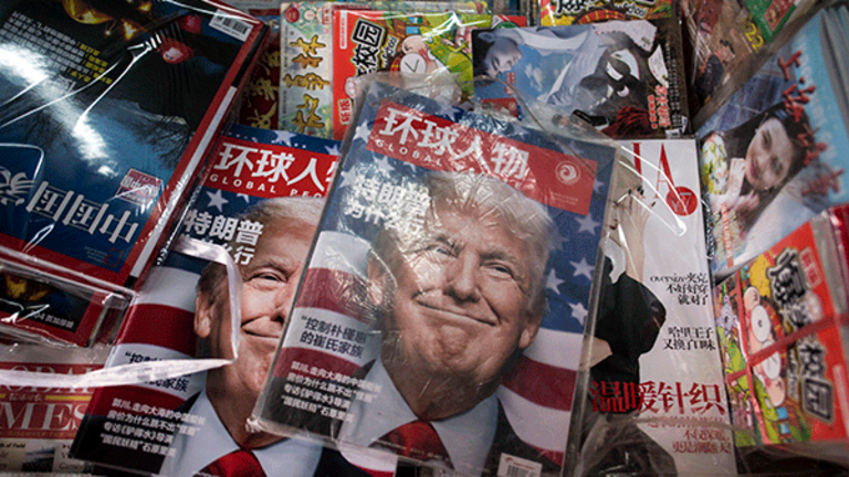 Trump's Tax Plans, China Letter Elevate Futures, Asia