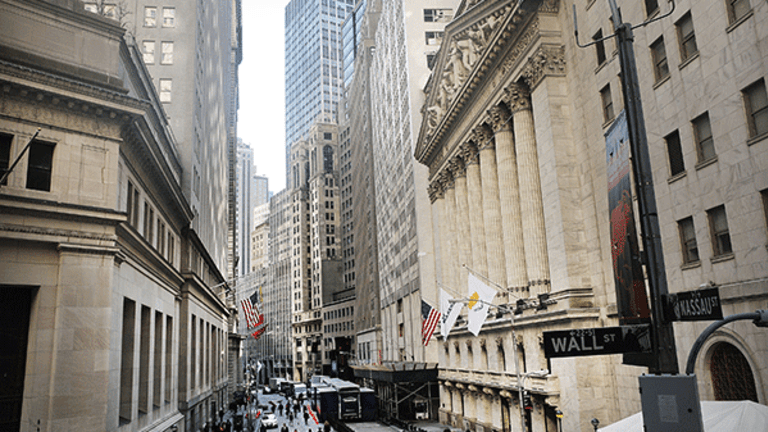 Stocks Pare Losses in Final Hour as Financials Claw Back From Lows
