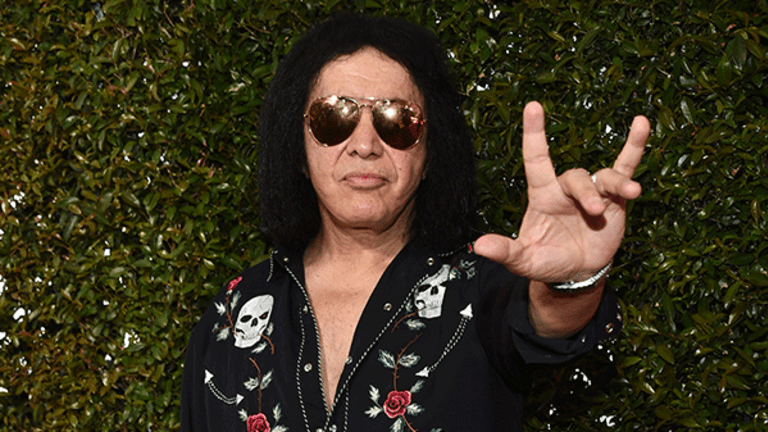 Rock and Roll God Gene Simmons Thinks the Dow Will Blow Past 20,000