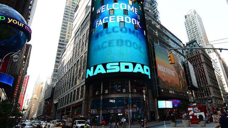 Wall Street Trades at Records as Facebook Rallies