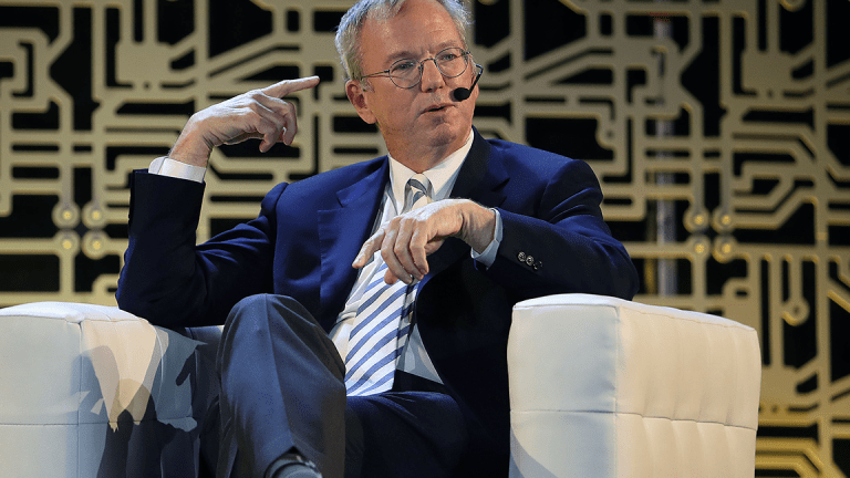Alphabet Executive Chairman Eric Schmidt to Step Down in 2018