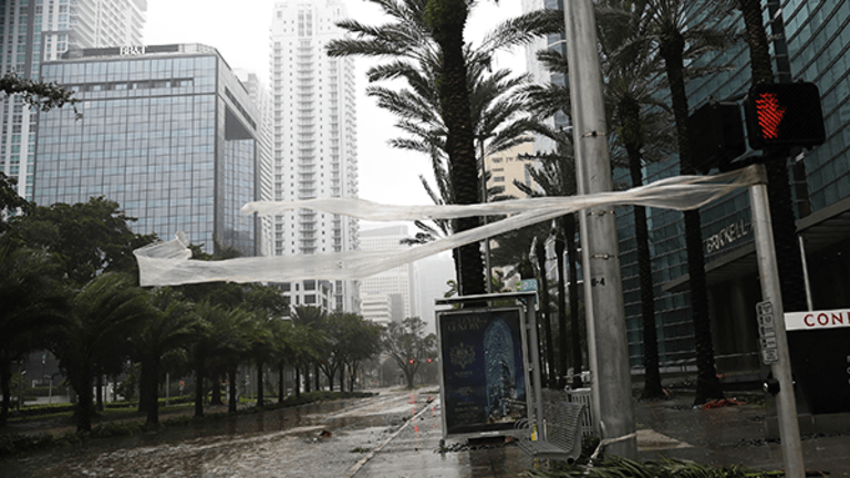 Hurricane Irma Makes Landfall in Florida