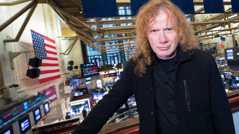 Megadeth's Dave Mustaine Turns Lyrics Into Wine