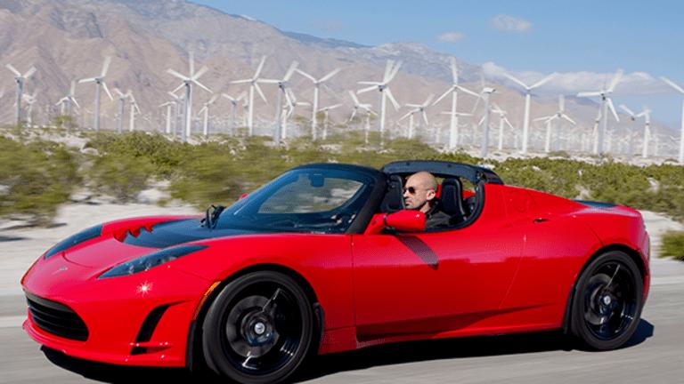Tesla's Stock Is Roadkill