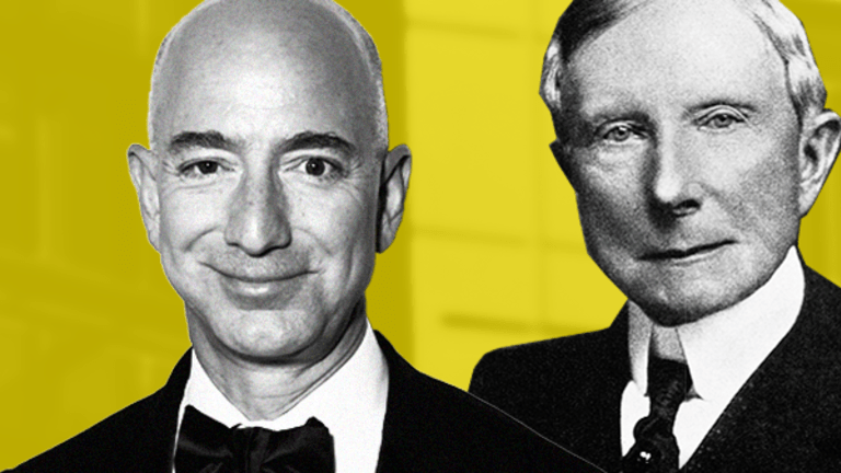 This Is What Amazon Billionaire Jeff Bezos Must Learn About Philanthropy From John D. Rockefeller