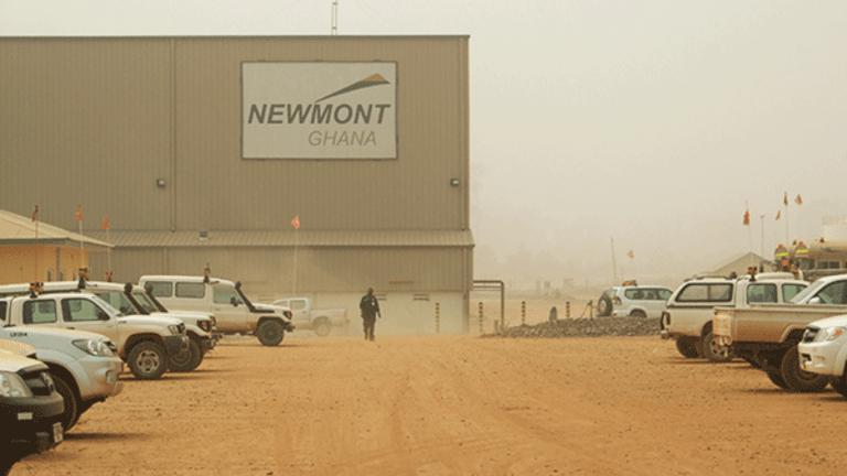 Newmont Mining (NEM) Spearheads Gold Gains