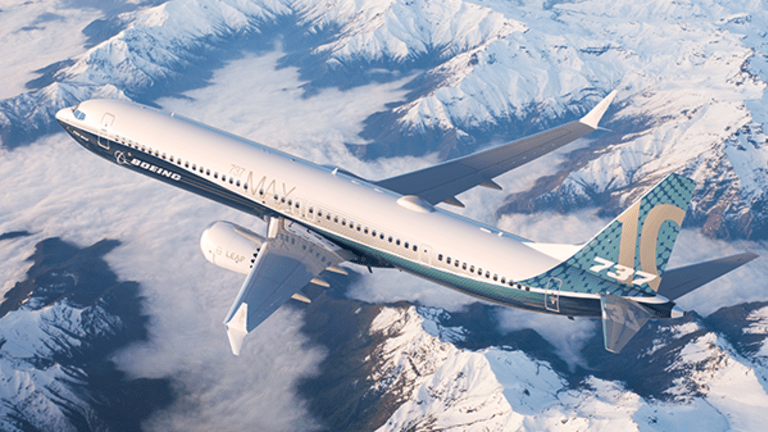 Boeing, the Dow's New Leader, Rolls Out a New Aircraft to Challenge the Airbus A321