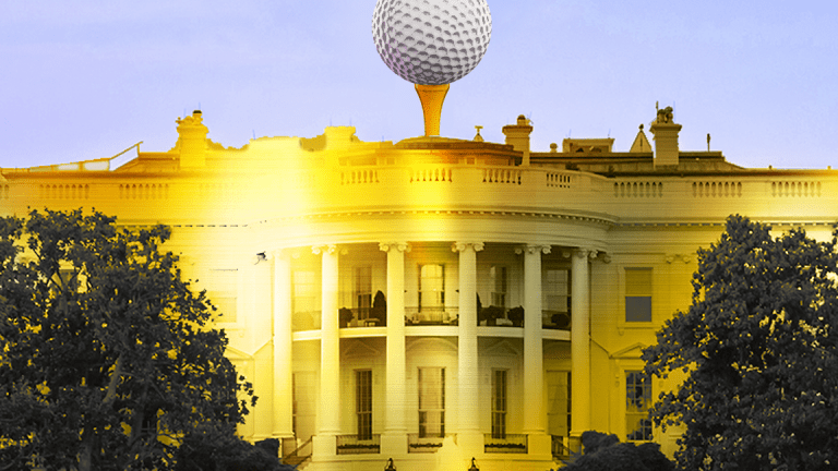 Trump's Scottish Golf Courses Posting Red Numbers as Politics Intrude