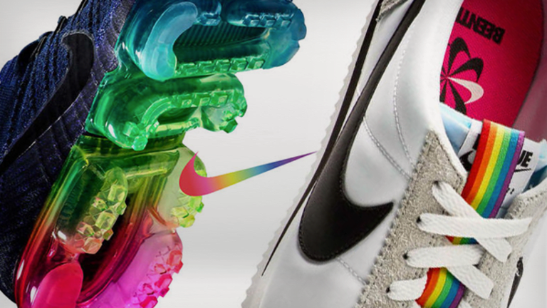 Nike Hopes People Rally Around These New LGBTQ-Themed Rainbow Sneakers