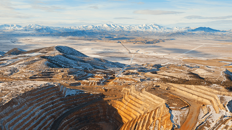 Gold Miners Jump as Investors Run for The Hills