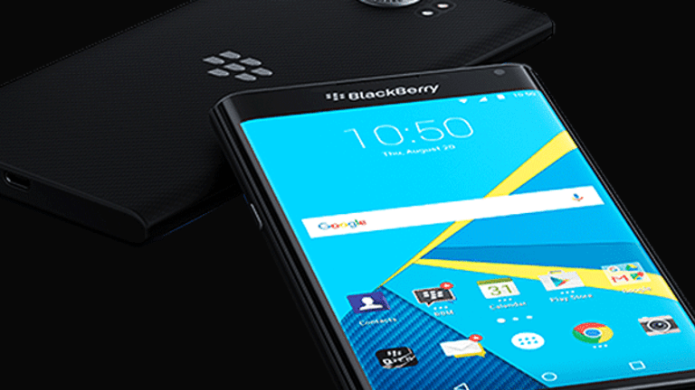 BlackBerry's Rally Is Falling by the Wayside