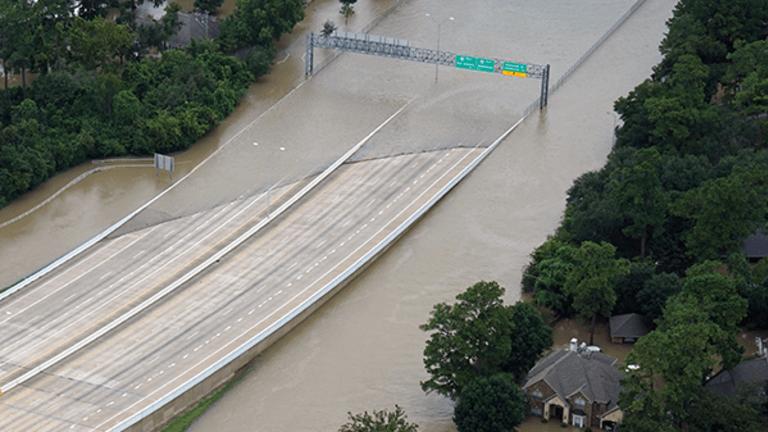 U.S. Flood-Insurance Program Taps Credit Line as Storms Devour Remaining Cash