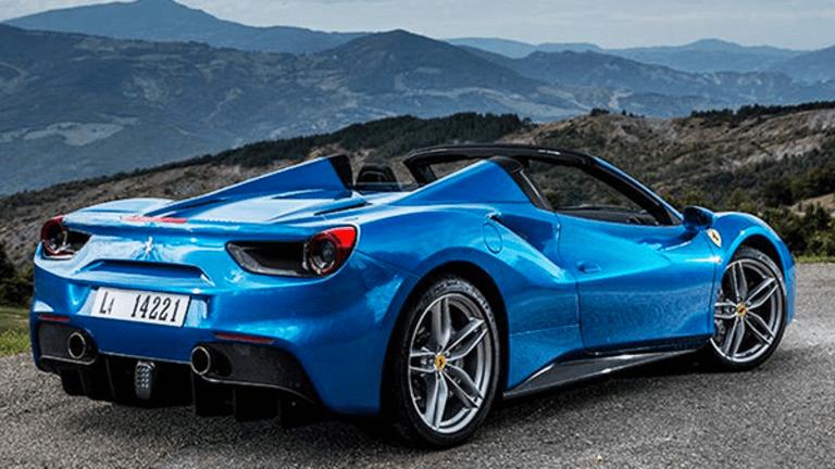 Ferrari's Market Value Gallops Right Over Former Parent Fiat Chrysler -- Here's Why