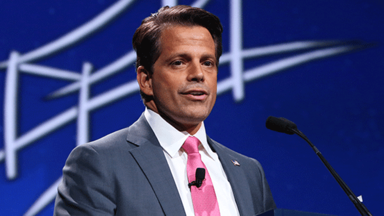 Scaramucci Set to Talk Live With TheStreet