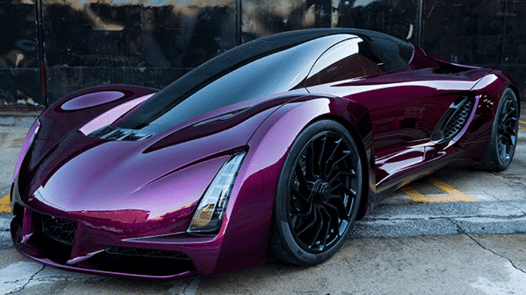 You Must See This Insane 3-D Printed Supercar Called the 'Blade'