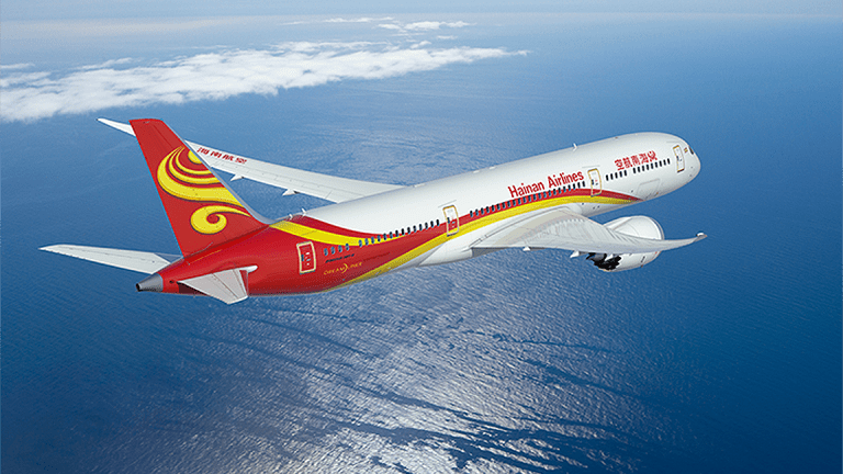Boeing's 787 Allows Hainan Airlines to Fly From New York to Interior China