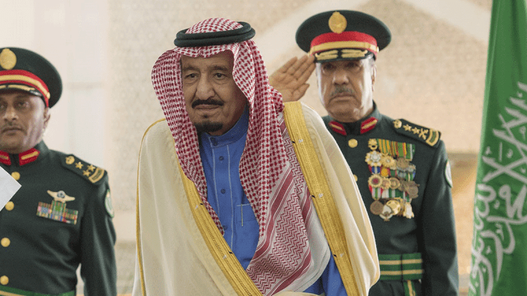 Saudi Monarch's Purge Gets Cynical Nod From Foreign Investors