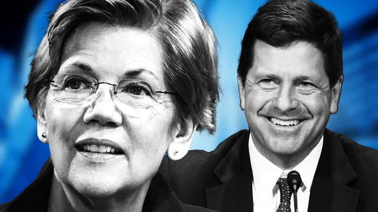 Elizabeth Warren, SEC's Clayton Clash Over Health of IPO Market