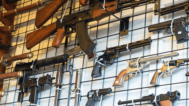 Gun Stocks Close Higher In Wake of Las Vegas Shooting
