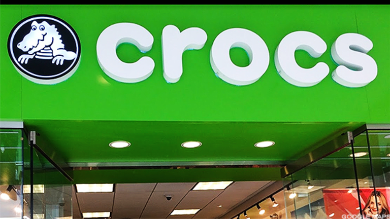 Crocs Upgraded to 'Hold' from 'Sell' by Our Quant Ratings Team