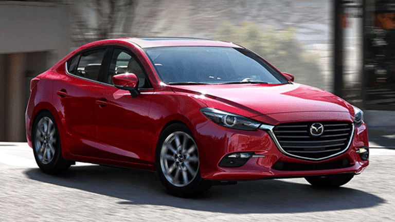 Mazda Recalling 228,000 Vehicles Because a Brake Issue May Cause a Car to Roll Unexpectedly Downhill