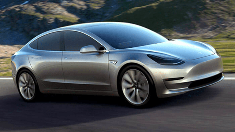 The Model 3 Looks an Awful Lot Like Tesla's iPhone Moment