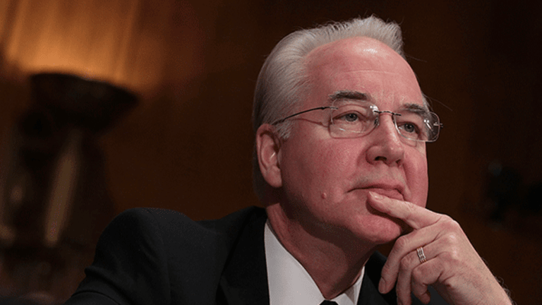 Tom Price Out as Health and Human Services Secretary