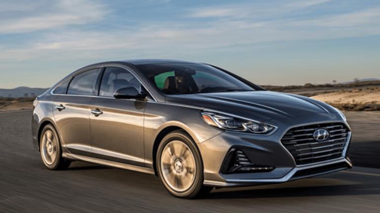 Hyundai's Popular Sonata Gets a Facelift Despite Brutal U.S. Auto Market