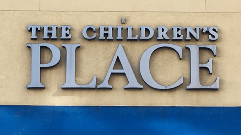 The Children's Place Stock Pops on Telsey Rating