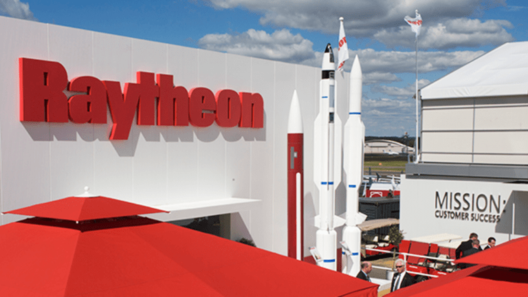 Missile Guidance Steers Raytheon Shares Higher