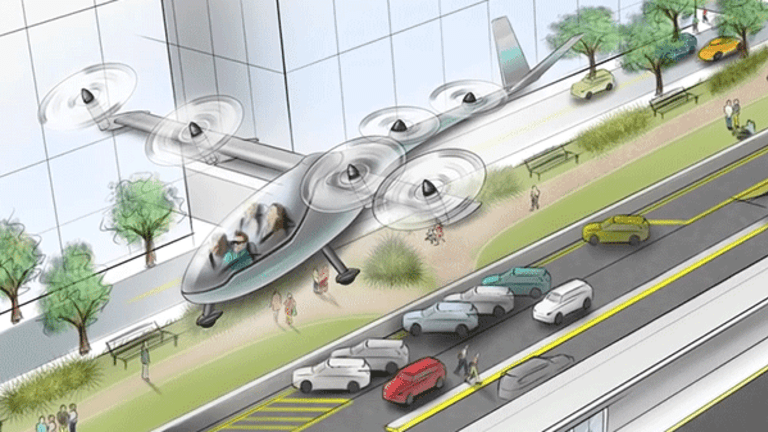 Uber Fighting to Stay Ahead in Flying Car Initiative
