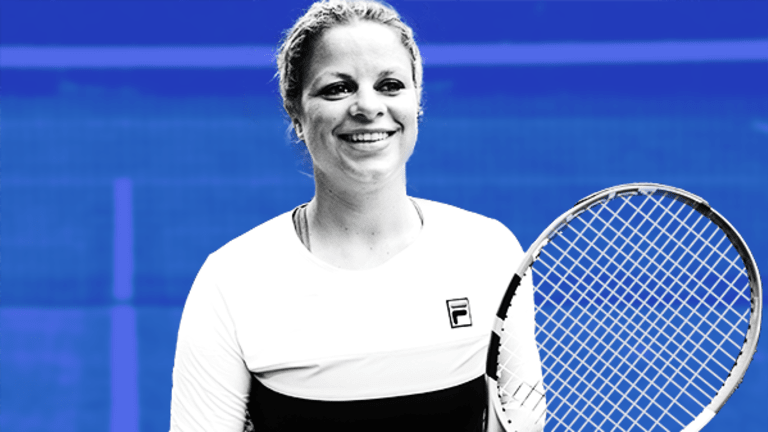 U.S. Open Champ Kim Clijsters -- Don't Swing at Every Opportunity in Life