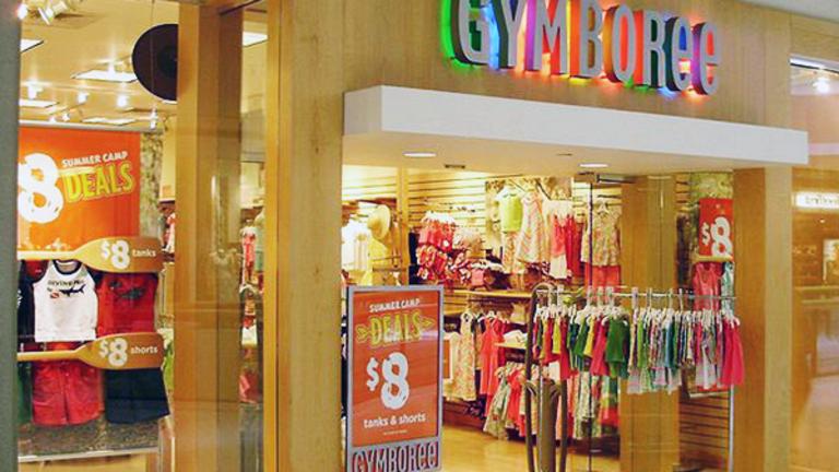 Gymboree Files for Bankruptcy, Announces Departure of CFO
