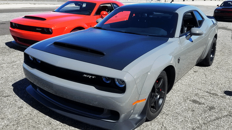 Barely Road Legal 840hp Dodge Demon Hits Dealers - What You Get for $85,000
